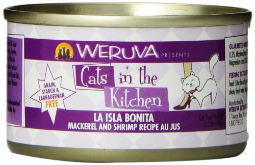Weruva Cats in the Kitchen La Isla Bonita Cat Food (3.2 oz (24 can case)) (Recipes From La Isla compare prices)