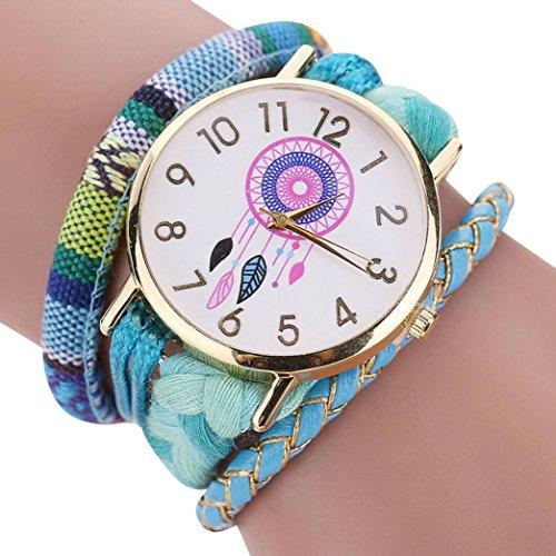 ZARU Las mujeres y niñas elegante estilo y elegante reloj de punto decorativo SB