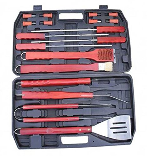 Shop24Hrs Portable BBQ Tool Set Good Helper BBQ Grill Outdoor Picnic Barbecue Kitchen Utensils (Jenn Air Blower compare prices)