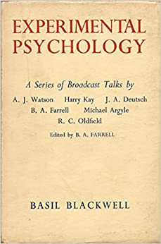 Experimental psychology a review of experimental