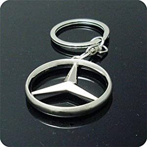 Mercedes Benz 3D Logo Keychain from Auto Accessories
