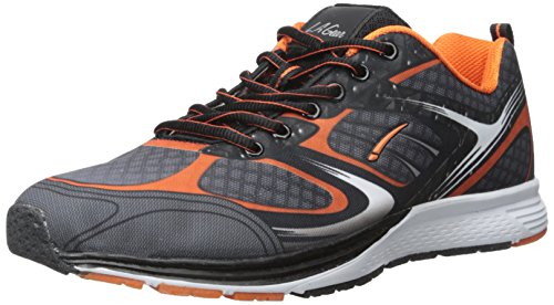 la-gear-mens-sprint-m-running-shoe-grey-orange-9-m-us