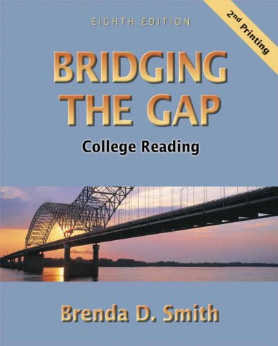 Bridging the Gap: College Reading (with Study Card for Vocabulary) (8th Edition)