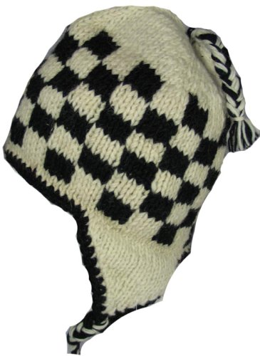 Crazy Knit Hat with Ear Flaps Pattern - Fostering Love for Children