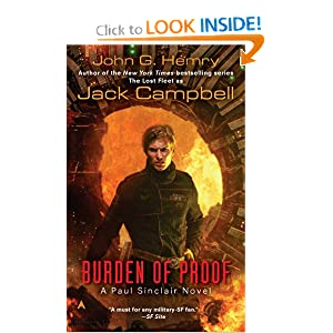 Burden of Proof (JAG in Space, Book 2) by John G. Hemry