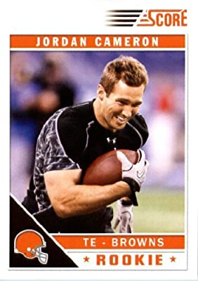 2011 Score Football Card #349 Jordan Cameron RC - Cleveland Browns (RC - Rookie Card) NFL Trading Card