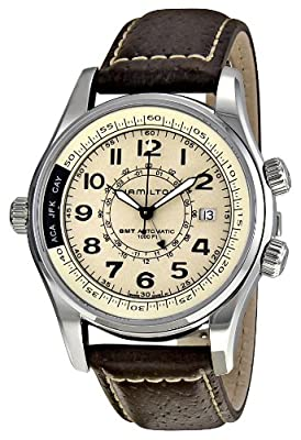 Hamilton Men's H77525553 Khaki Automatic Watch