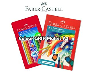 faber castell colour grip malset wasservermalbar. Black Bedroom Furniture Sets. Home Design Ideas