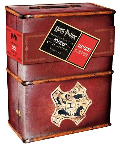 Harry Potter Years 1-5 Limited Edition Gift Set [Hd Dvd]