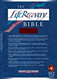 echange, troc  - The Life Recovery Bible: New Living Translation Version, Burgundy Bonded Leather