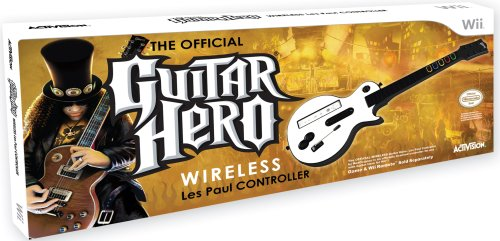 Wii Les Paul Wireless Guitar