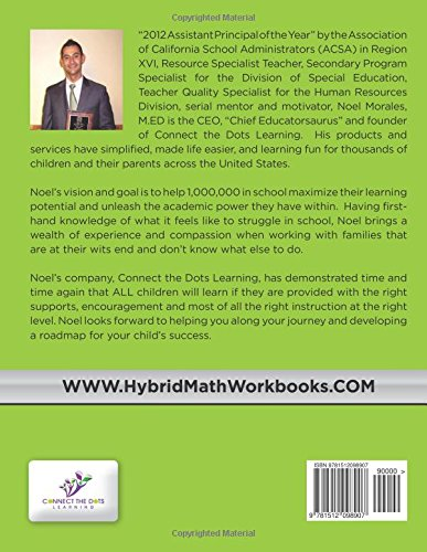 Hybrid Math Workbook Grade 4