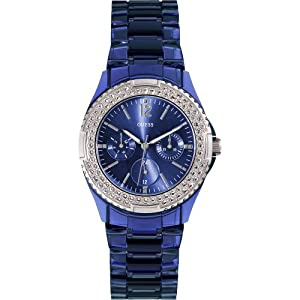 Guess W0062L1 Ladies ROCK CANDY Multifunction Blue Watch