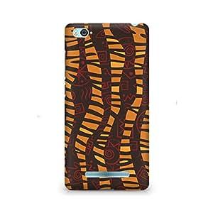 Ebby Cheetah Tribal Wave Premium Printed Case For Xiaomi Redmi Mi5