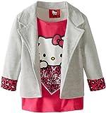 Hello Kitty Girls 2-6X Leopard Cuff On Blazer