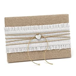 Rustic Romance Guest Book by Exclusively Weddings