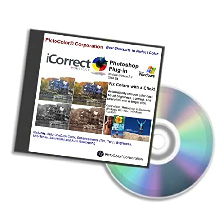 PictoColor iCorrect OneClick 2.0 Photoshop Plug-in, Win Version