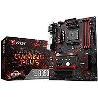 MSI B350 GAMING PLUS AM4 AMD B350 SATA 6Gb/s ATX AMD Motherboard