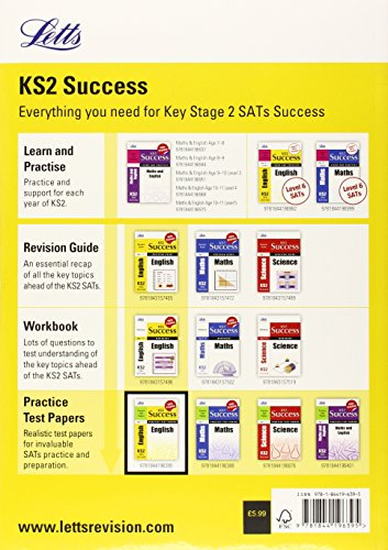 English: Practice Test Papers (Letts Key Stage 2 Success) (Letts Key Stage 1 Success)