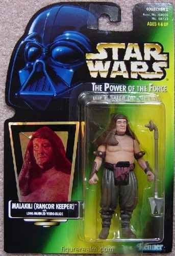 Star Wars - Power of the Force (1995) Malakili (Rancor Keeper) Action Figure - 1