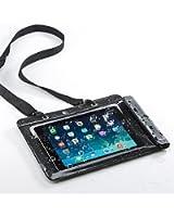 サンワダイレクト iPad タブレットPC 防水ケース お風呂 対応 iPad Air 2 iPad Air 10.1インチ汎用 スタンド機能 ストラップ付 200-PDA127