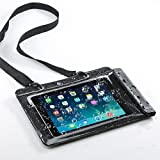 サンワダイレクト iPad タブレットPC 防水ケース お風呂 対応 iPad Air 10.1インチ汎用 スタンド機能 ストラップ付 200-PDA127