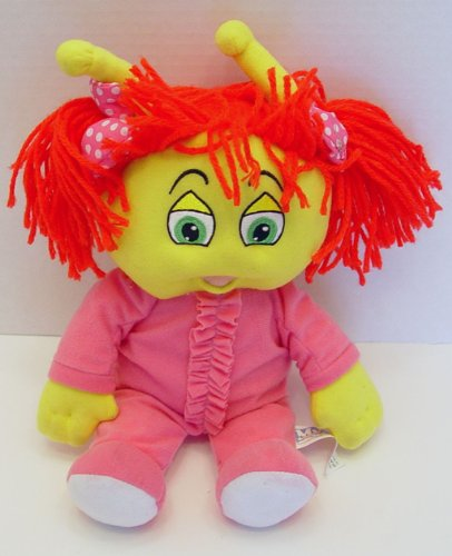 "My Bedbugs Woozy in Pajamas Girl Plush Doll 12"" Tall - 1"