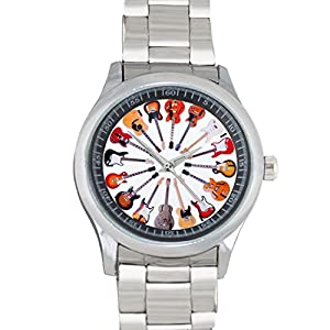 Classic Guitars FILGO085 Stainless Steel Wrist Watches