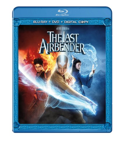 Cover art for  The Last Airbender (Two-Disc Blu-ray/DVD Combo)