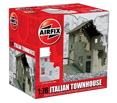 Airfix Italian Townhouse Building Kit, 1:76 Scale