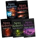 Nora Roberts Nora Roberts Night Tales Collection 5 Books Collection Pack Set (Night Moves, Night Shift, Night Shadow, Night Shield, Night Smoke)