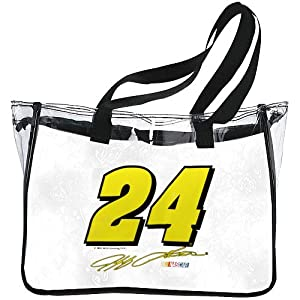 NASCAR Jeff Gordon Clear Tote by R R Imports