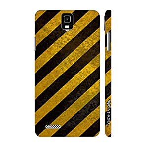Infocus M330 SLANT CROSSING designer mobile hard shell case by Enthopia