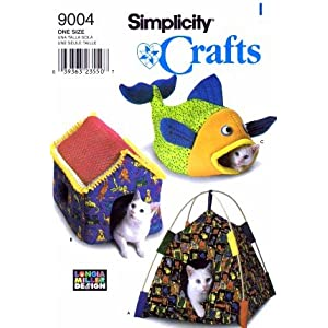 Snuggy Mouse Cat Bed Crochet Pattern | hollywoodpatterns - Craft