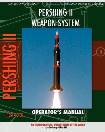 Pershing Ii Weapon System Operator'S Manual