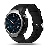 LEMFO-LEM3-3G-Smart-Watch-Cell-Phone-All-in-One-MTK6580-Android-51-Quad-Core-WiFi-GPS-Heart-Rate-Monitor-Gunmetal