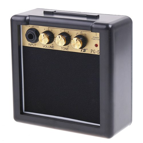 Andoer Pg-5 5W Electric Guitar Amp Amplifier Speaker Volume Tone Control