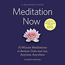 Meditation Now: A Beginner's Guide Audiobook by Elizabeth Reninger Narrated by Lisa Cordileone