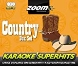 Zoom Karaoke CD+G - Country Superhits - Triple CD+G Karaoke Pack Zoom Karaoke