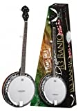 Dean B3PK 5 String Banjo Package