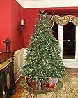 6.5' Full Pre-Lit Blue Aspen Fir Tree, 550 Warm White LED Lights