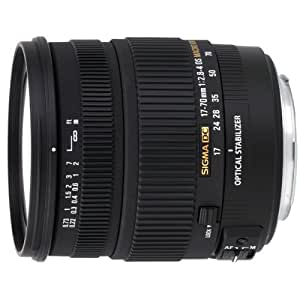 Sigma 17-70mm f/2.8-4 DC Macro OS HSM Lens for Sony Mount Digital SLR Cameras
