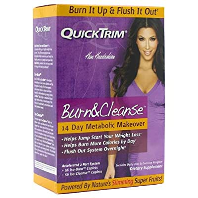 Quicktrim Burn And Cleanse 14 Day System by Quicktrim