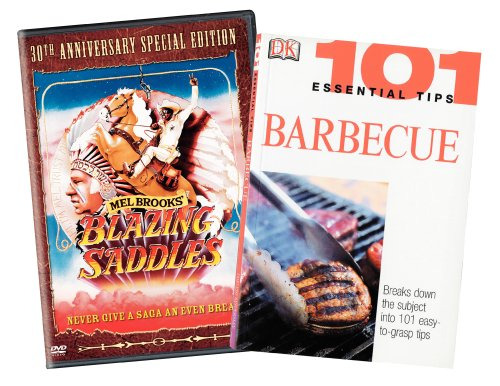Blazing Saddles (With BBQ Book)