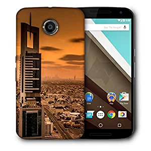 Snoogg Soul Of The City Designer Protective Phone Back Case Cover For Motorola Nexus 6