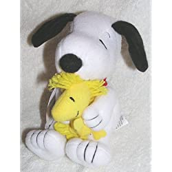Peanuts 6 inch Plush Snoopy Hugging Woodstock Doll