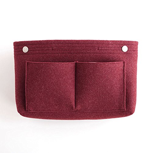 invite.L インナーバッグ Felt bag in bag - Burgundy ワインレッド IN11144