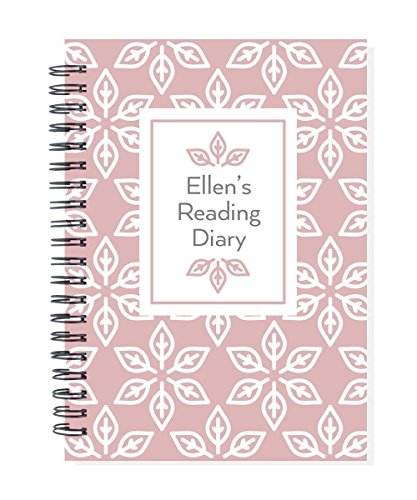 Personalized book journal, record the books you read in this diary, your name on cover