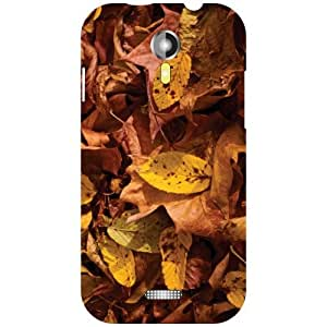 Micromax A117 Canvas Magnus - Brown Matte Finish Phone Cover