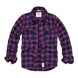 Abercrombie & Fitch / アバクロ / メンズ / 長袖 / フランネルシャツ / ネイビー / チェック 【S】 【Lake Harris Flannel Shirt】 並行輸入品